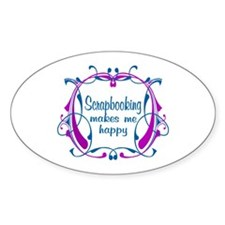 Scrapbooking Happiness Decal