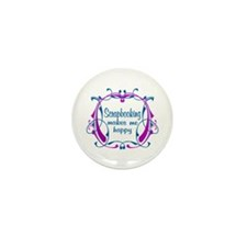 Scrapbooking Happiness Mini Button (10 pack)