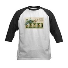 Old Russian Easter Card Baseball Jersey