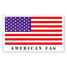 AMERICAN FAG STICKER
