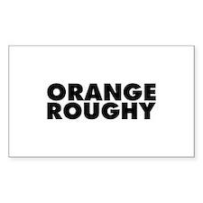 Orange Roughy Decal