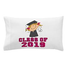 Pink Class of 2014 Grad Pillow Case