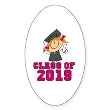 Pink Class of 2014 Grad Decal