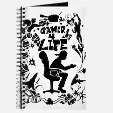 Gamer for Life (All Black) Journal