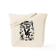 Gamer for Life (All Black) Tote Bag