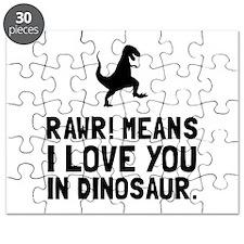 Rawr Love Dinosaur Puzzle