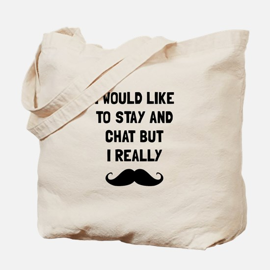 Really Moustache Tote Bag