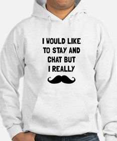 Really Moustache Hoodie