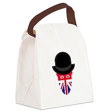 British Jack Canvas Lunch Bag