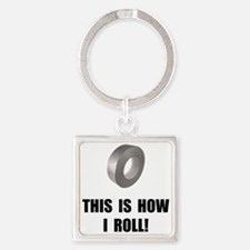 Roll Duct Tape Keychains