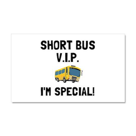 Short Bus VIP Car Magnet 20 x 12
