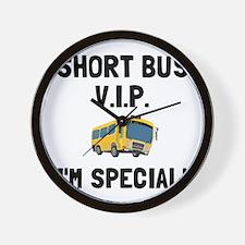 Short Bus VIP Wall Clock