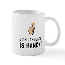 Sign Language Mugs