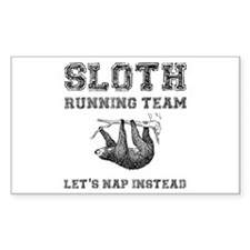 Sloth Running Team Decal