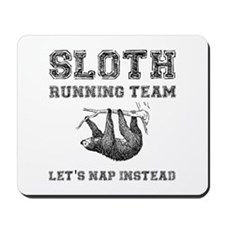 Sloth Running Team Mousepad
