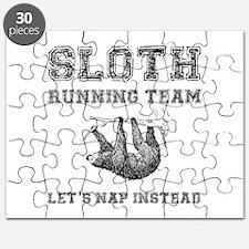 Sloth Running Team Puzzle