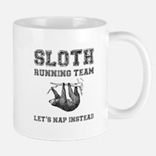 Sloth Running Team Mugs