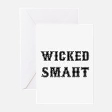 Wicked Smaht Greeting Cards