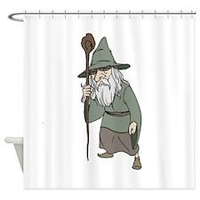 Wizard Shower Curtain