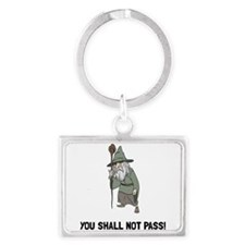 Wizard Shall Not Pass Keychains