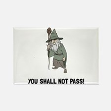 Wizard Shall Not Pass Magnets