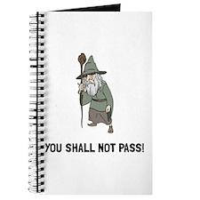 Wizard Shall Not Pass Journal