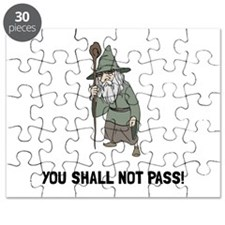 Wizard Shall Not Pass Puzzle