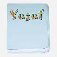 Yusuf Giraffe baby blanket