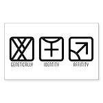 MaleFemale to Male Rectangle Sticker