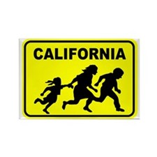 Welcome To Cali Rectangle Magnet