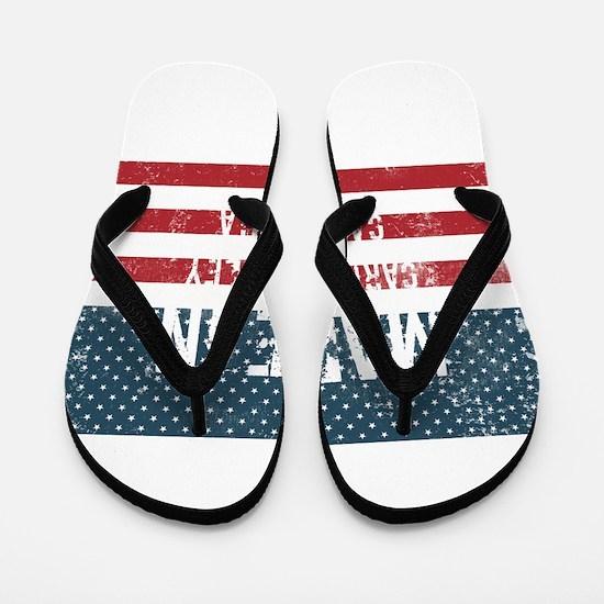 Made in Carmel Valley, California Flip Flops