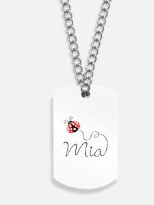 Ladybug Mia Dog Tags