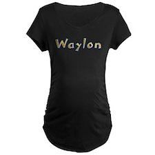 Waylon Giraffe Maternity T-Shirt