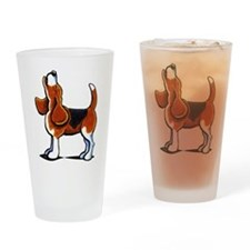 Tricolor Beagle Bay Drinking Glass