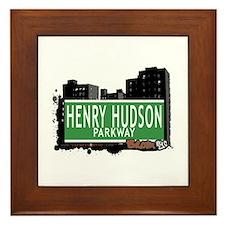 Henry Hudson Pkwy, Bronx, NYC Framed Tile