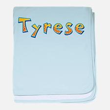 Tyrese Giraffe baby blanket