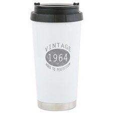 Vintage 1964 Birthday Travel Coffee Mug