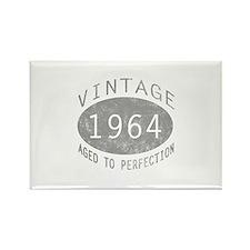 Vintage 1964 Birthday Rectangle Magnet