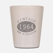 Vintage 1964 Birthday Shot Glass
