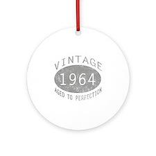 Vintage 1964 Birthday Ornament (Round)