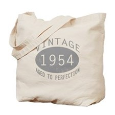 Vintage 1954 Birthday Tote Bag