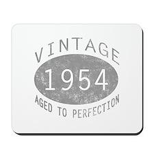 Vintage 1954 Birthday Mousepad