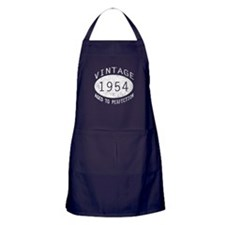 Vintage 1954 Birthday Apron (dark)