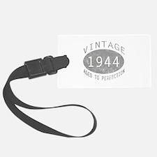 Vintage 1944 Birthday Luggage Tag