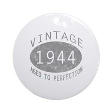 Vintage 1944 Birthday Ornament (Round)