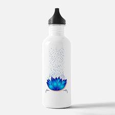 Lotus_dark T-shirt Water Bottle