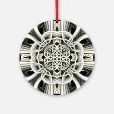 Knot Pattern Round Ornament