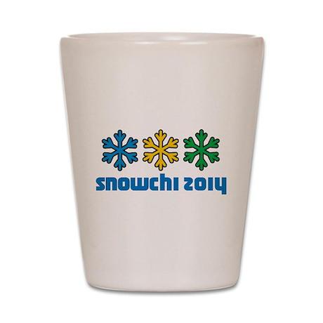 Snowchi 2014 Shot Glass