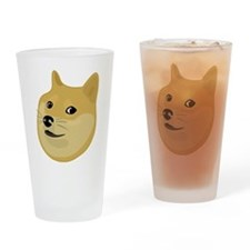 Wow Doge Drinking Glass