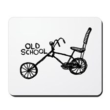Old School Bike Mousepad